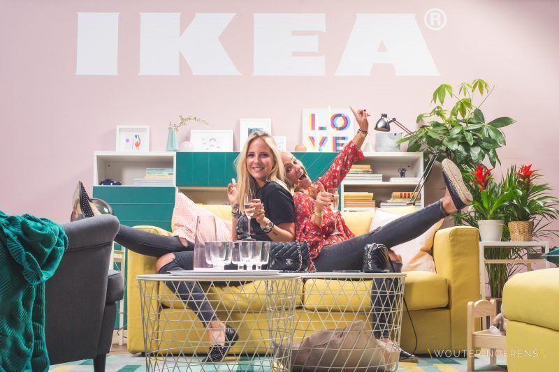 Ikea Cover Photoshoot