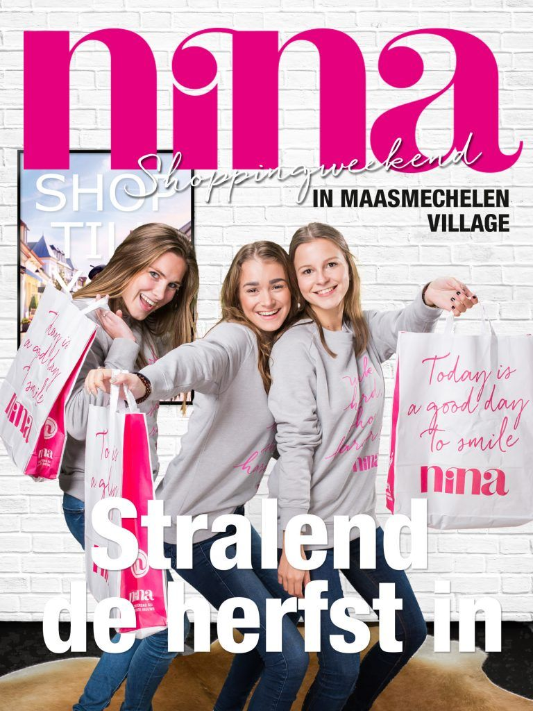 NINA Magazine Green Screen Cover Shoot