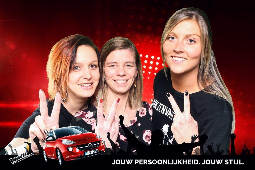 SayCheese Green Screen The Voice Van Vlaanderen