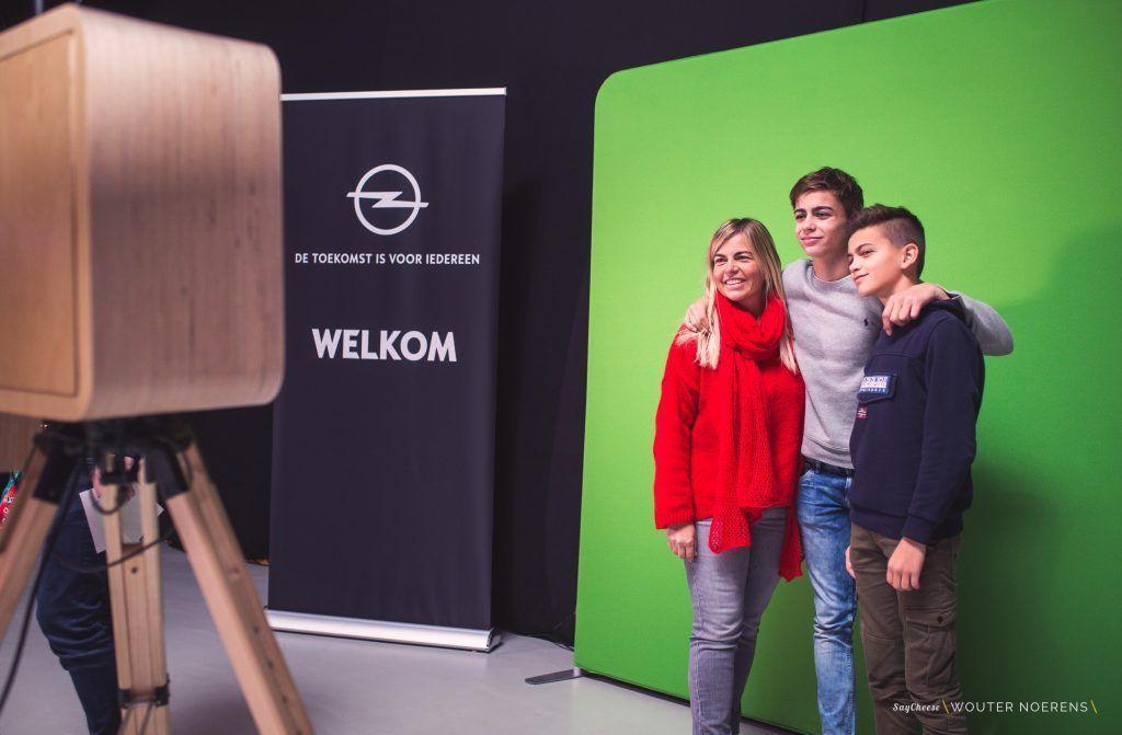 Opel @ The Voice van Vlaanderen Green Screen Booth